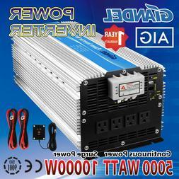 Giandel 5000W Heavy Duty Power Inverter 12V DC to 110V 120V