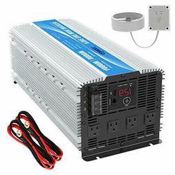 GIANDEL 4000W Heavy Duty Pure Sine Wave Power Inverter DC12V