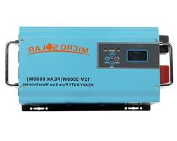HEAVY DUTY  - 12V 2000W  Pure Sine Wave Inverter - MicroSola