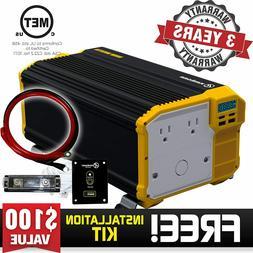 Krieger 12V to 110V 3000 Watt 6000 Watt Peak Power Inverter