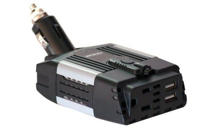 100 Watt Car Power Inverter DC to 110V 2.1A and 1.0A