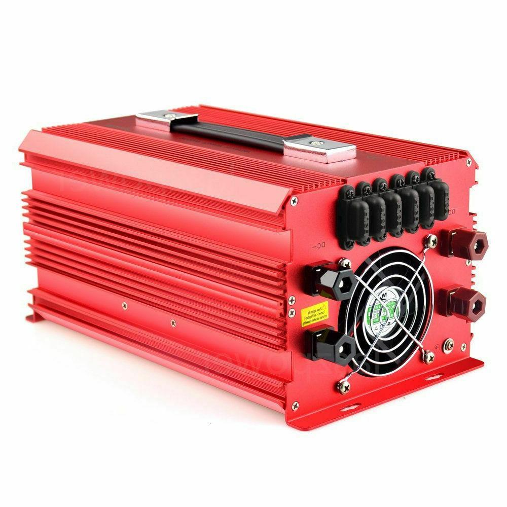 12V 110V AC Charger Supply BESTEK 2000W/4600 Power Inverter