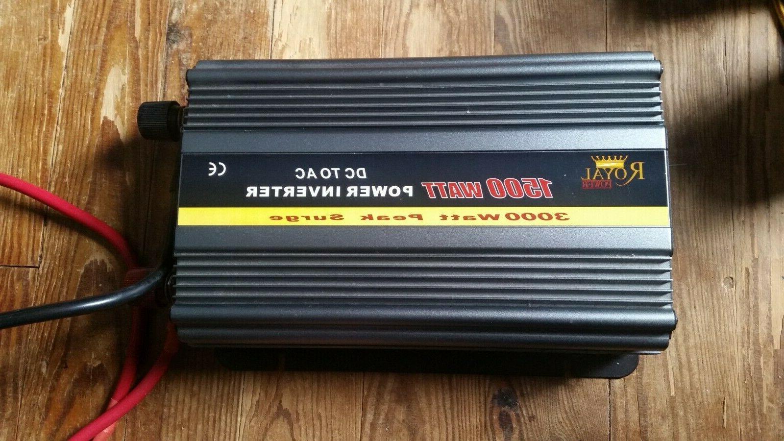 1500 watt power inverter 12 volt dc