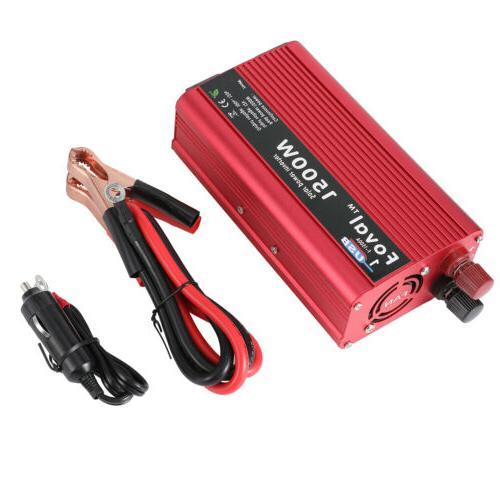 1500W Sine Wave Power DV12V to LCD USB