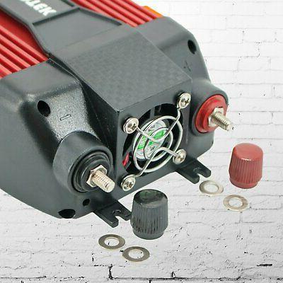 Audiotek 1500W Watt Power Inverter 110V Converter port Charger