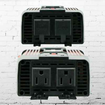 Audiotek 900W Inverter DC 12V 110V Converter USB port Charger