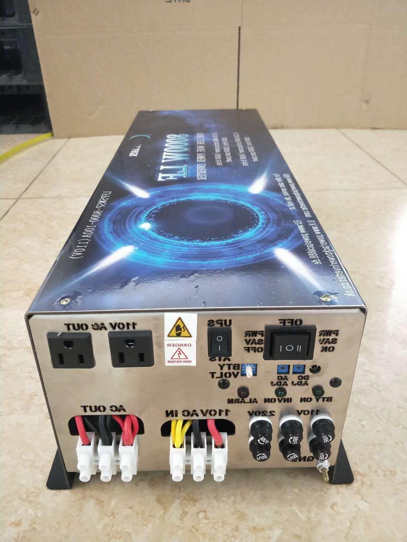 8000W SP PURE INVERTER DC24V/AC220V&110V/ATS/UPS/Charge