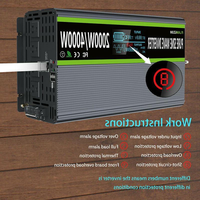 2000W/4000W Power 24V To & Remote Control