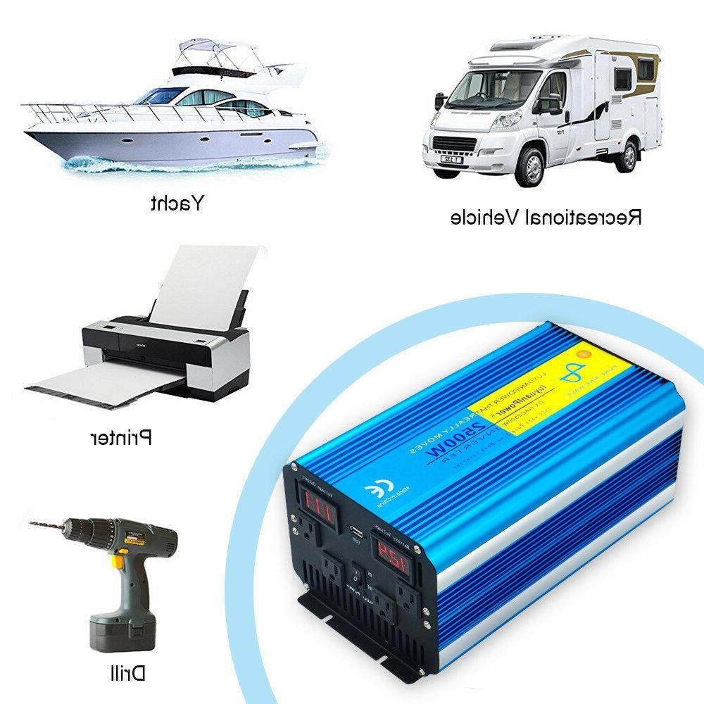 5000W 5000 Watt Power Inverter 12V dc ac
