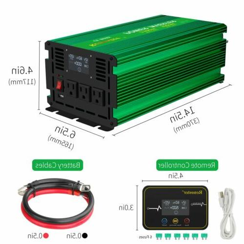 Pure Power Inverter to AC 110V/220V 2500W-5000W Max
