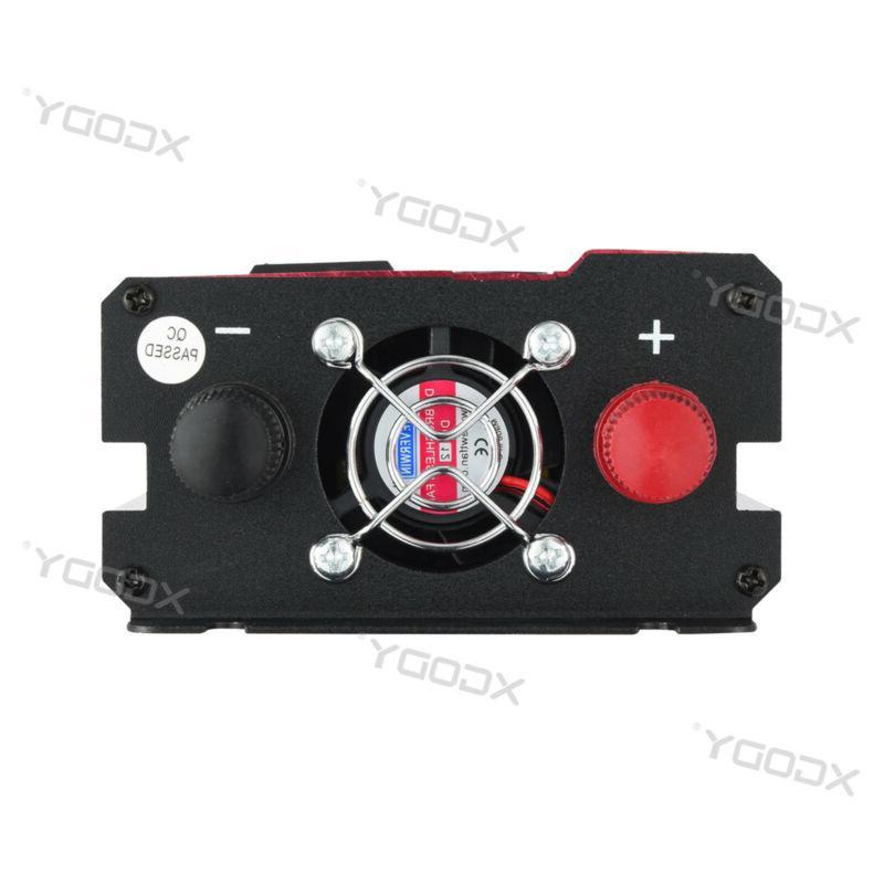 300/3000/5000W Power Inverter 12/24V To 110V/220V Wave A