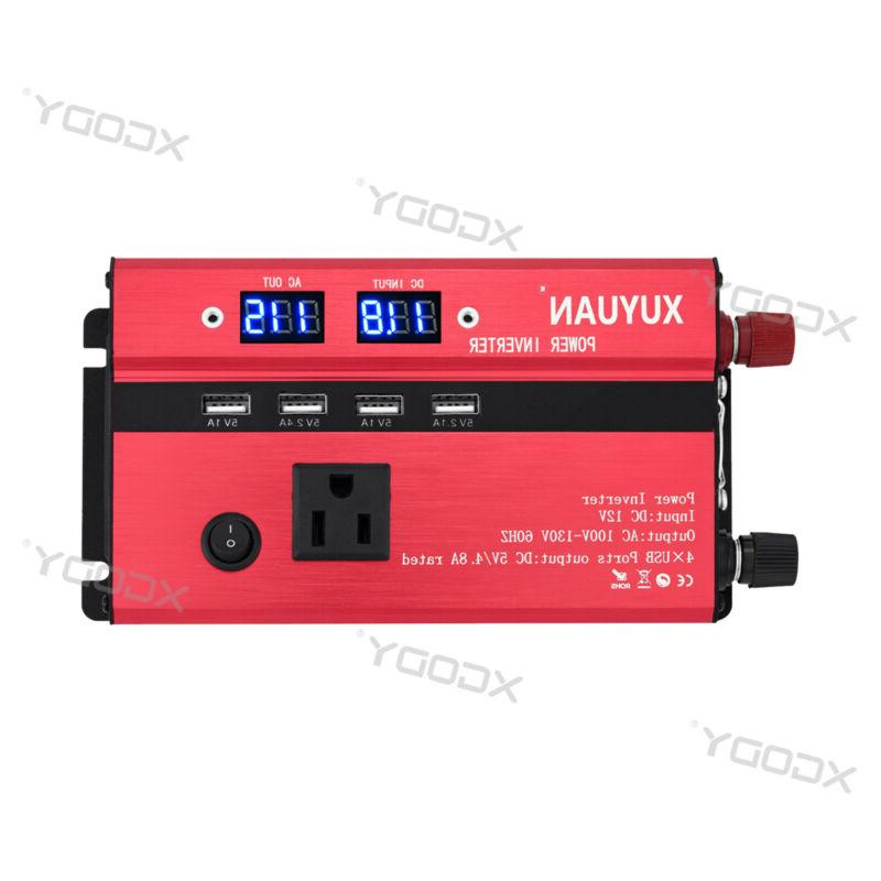 300/3000/5000W 12/24V To Wave Converter A