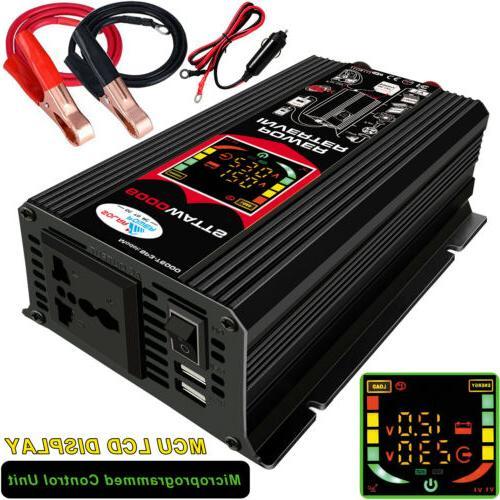 6000W Modified Sine Wave Power Inverter 6000 Watt DC 12V TO
