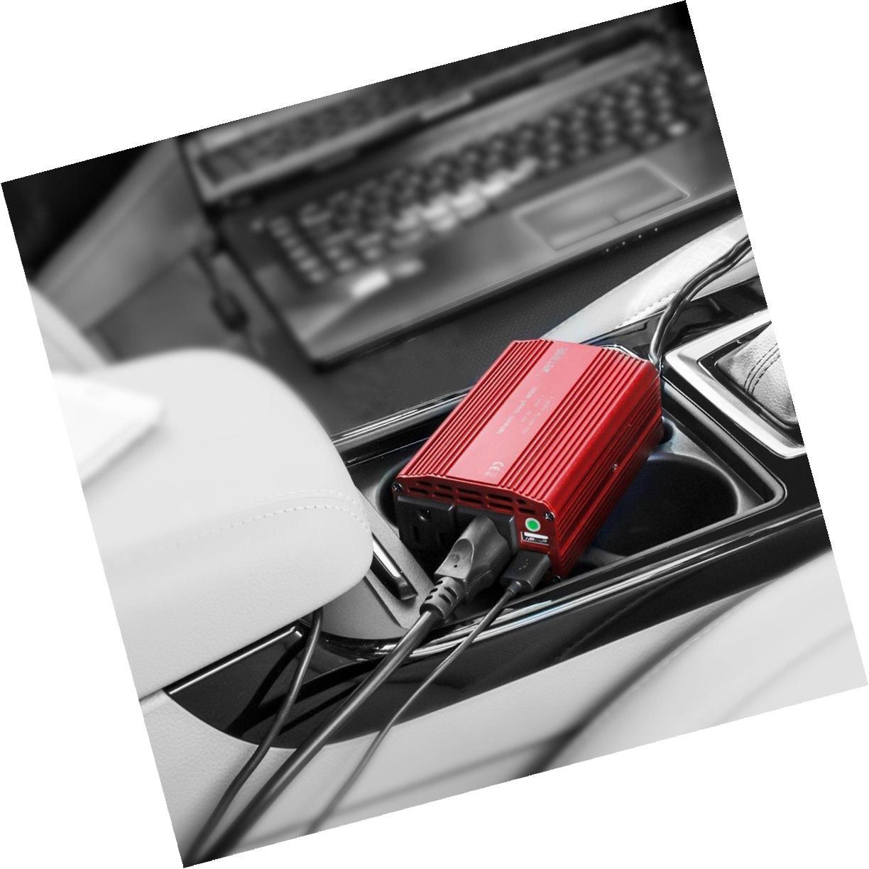 300W Power Inverter 12V to AC Car Inverter Dual Adapte
