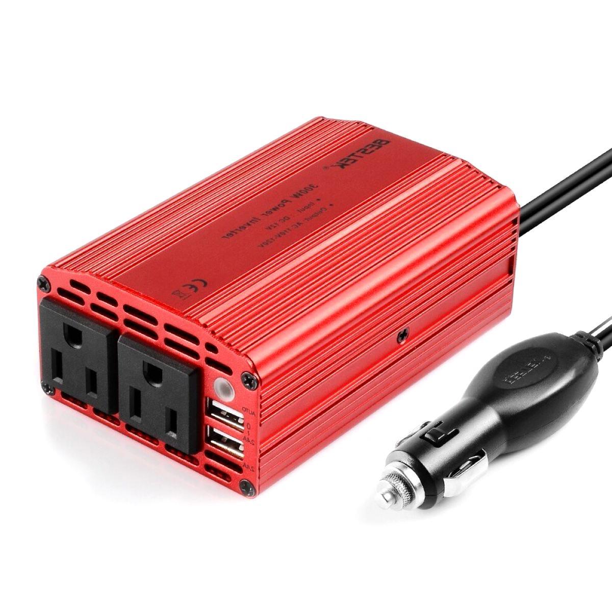 300w power inverter dc 12v to 110v