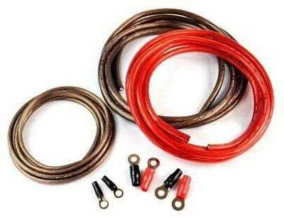 1000 Watt 4 Gauge Heavy Duty AC Power Inverter Cable Install