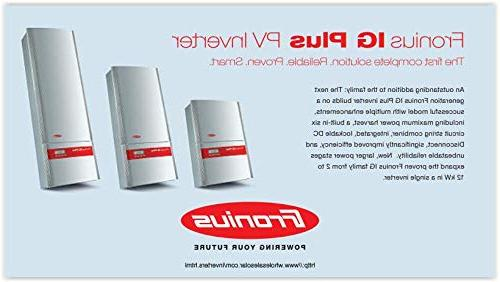 Fronius Advanced 3.8kW Inverter with AFCI