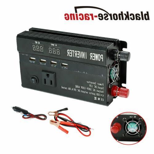 5000W 3000W Car Power Inverter To AC 110V USB Converter