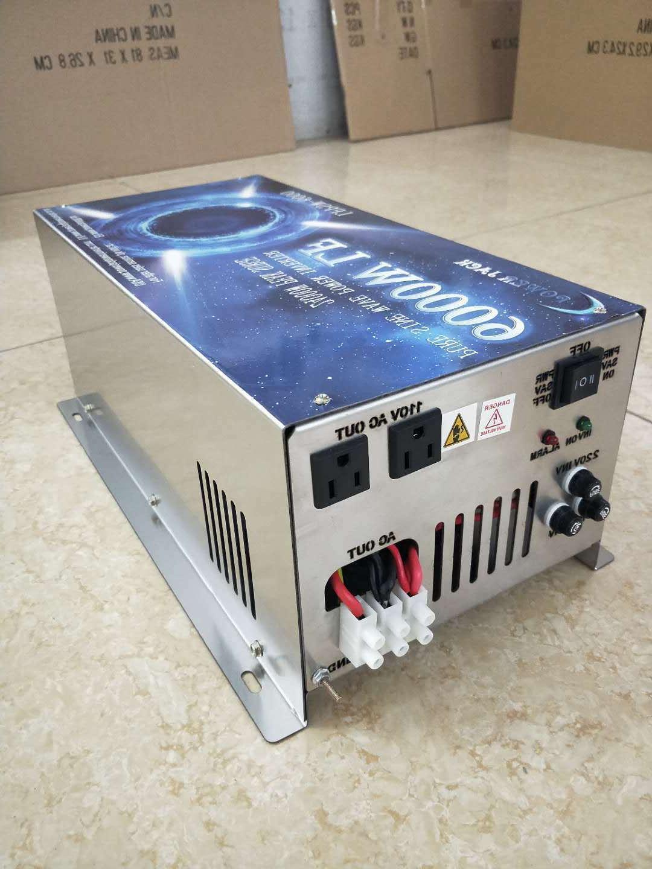 6000W PSW Split phase 24v/AC