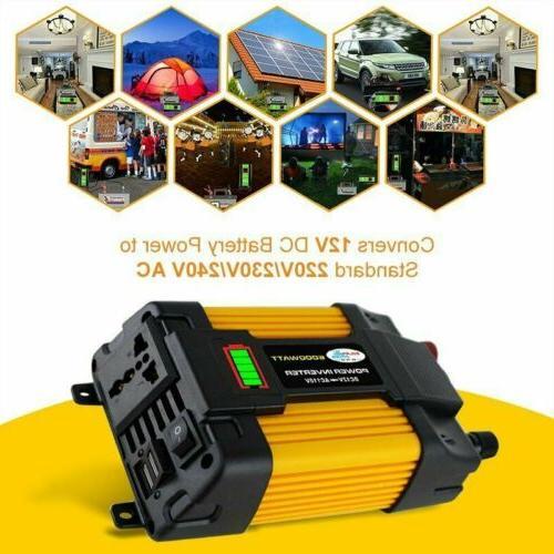 6000W Power 12V AC Car Power Converter