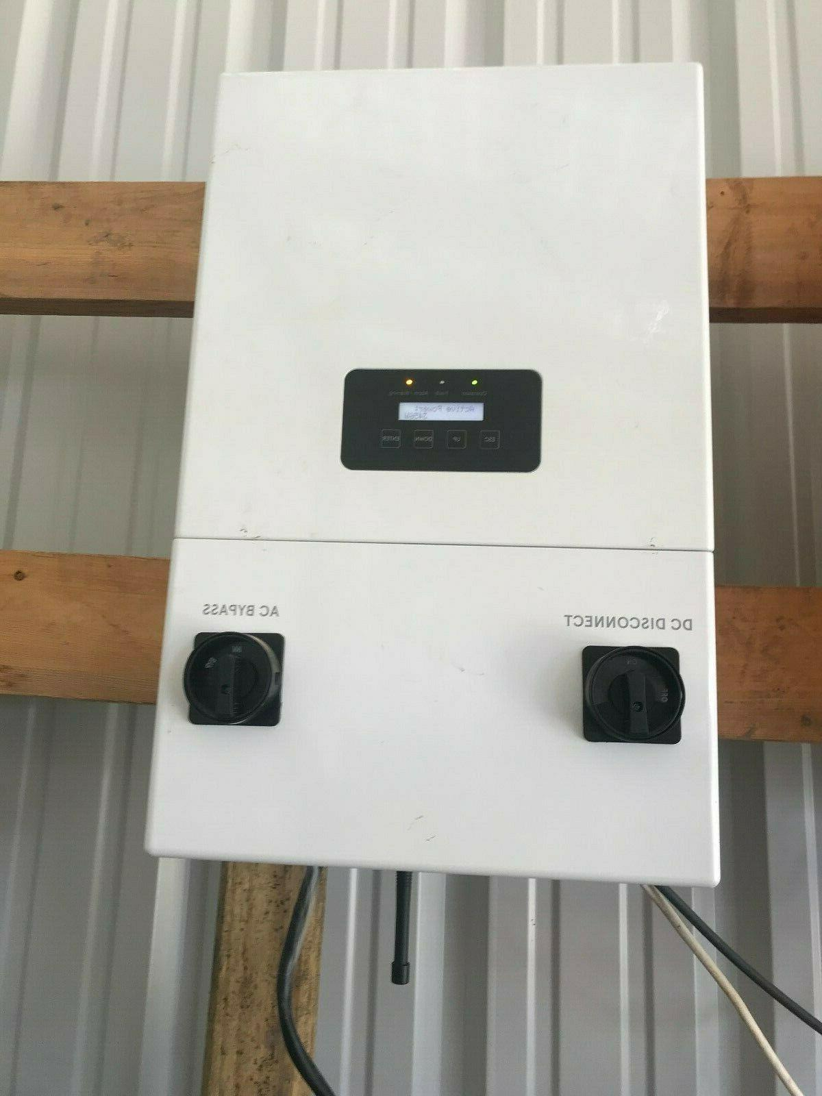 Delta H6 Grid-Tied Inverter Battery-less Backup UL1741 21 2MPPT