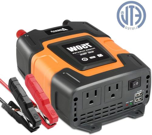 750w power inverter 12v dc to 110v
