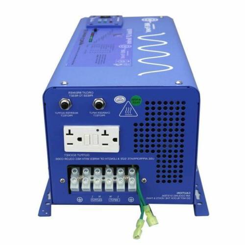 AIMS 3000 Watt Pure Sine Inverter Charger