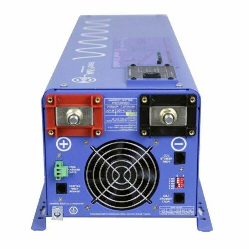 AIMS 4000 Watt Pure Sine Charger to 120Vac