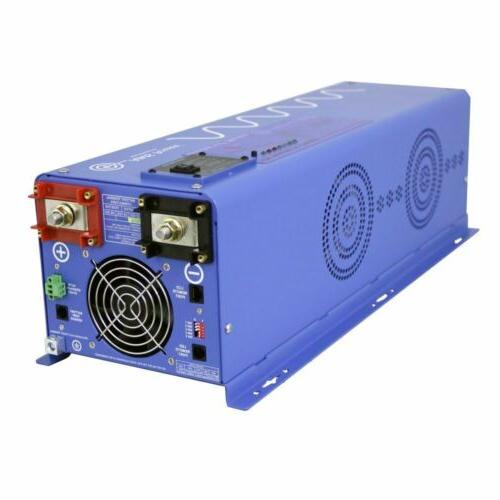 AIMS 4000 Watt Pure Sine Inverter Charger 12Vdc to 120Vac Ou