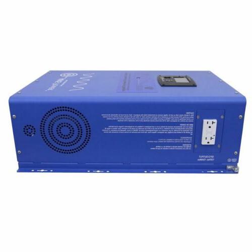 aims 8000 watt pure sine inverter charger
