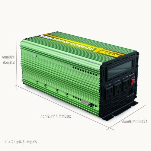 EDECOA 4000W 24V Cable