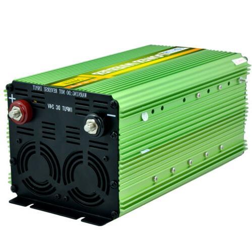 EDECOA Inverter 4000W 24V Cable
