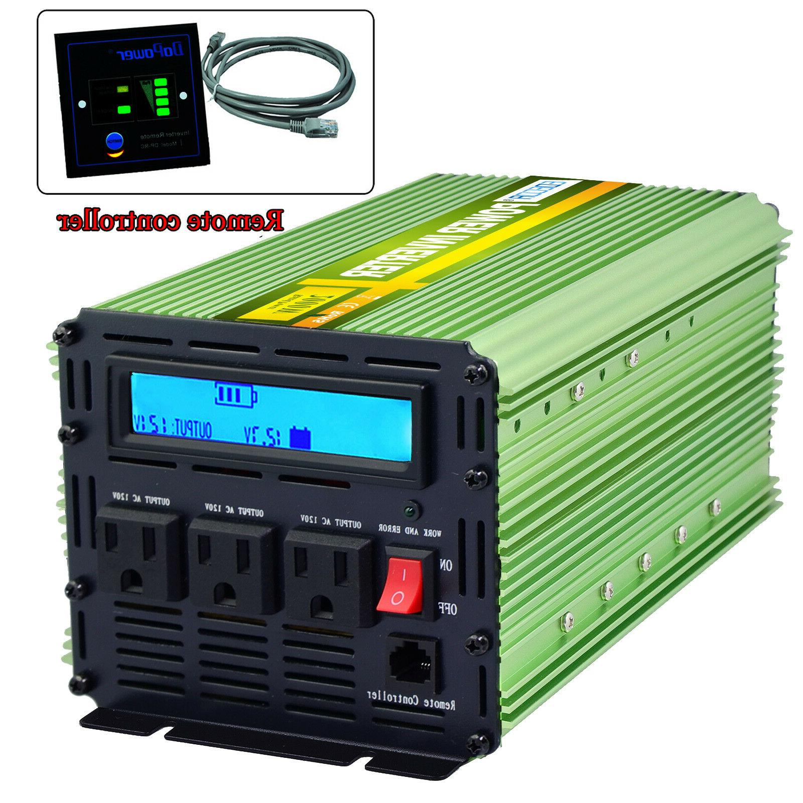 Car Inverter 4000 to LCD Cables