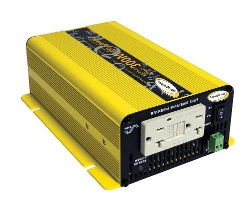 Go Power! GP-SW300-24 300-Watt Pure Sine Wave Inverter