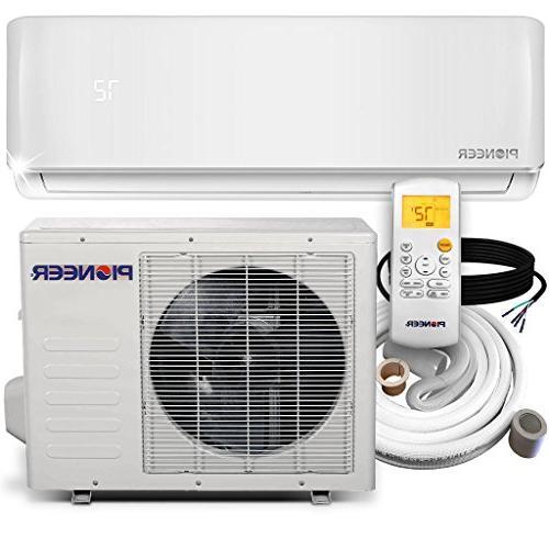 PIONEER 9000 BTU 19 SEER DC Inverter+ Mini Split Heat Pump S