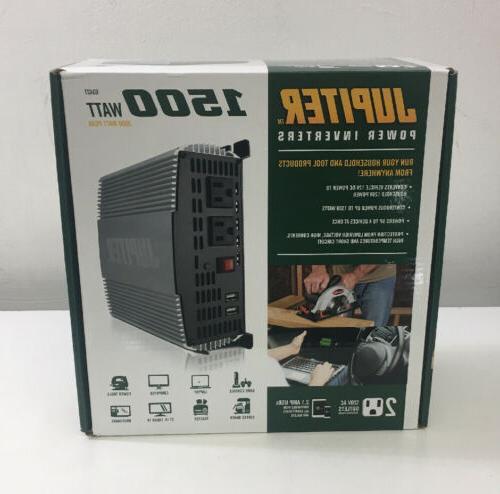 power inverter 1500 watt 63427 brand new