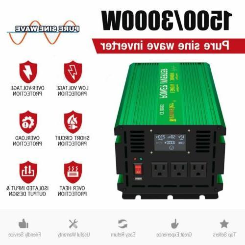 Renoster 3000 Sine Wave 12V 120V