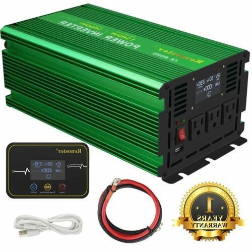 power inverter 1500w 3000 watt pure sine