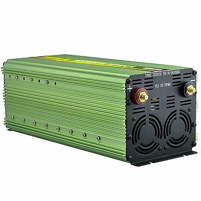 3000 6000W Inverter 12V DC 120V AC display cables Truck