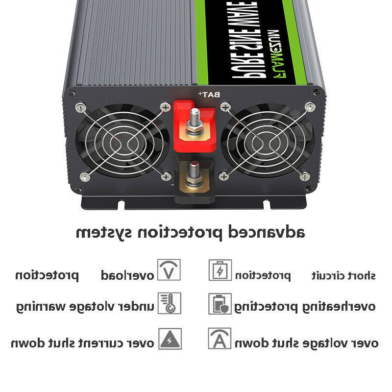 2000W/4000W Sine Power 24V To & Remote