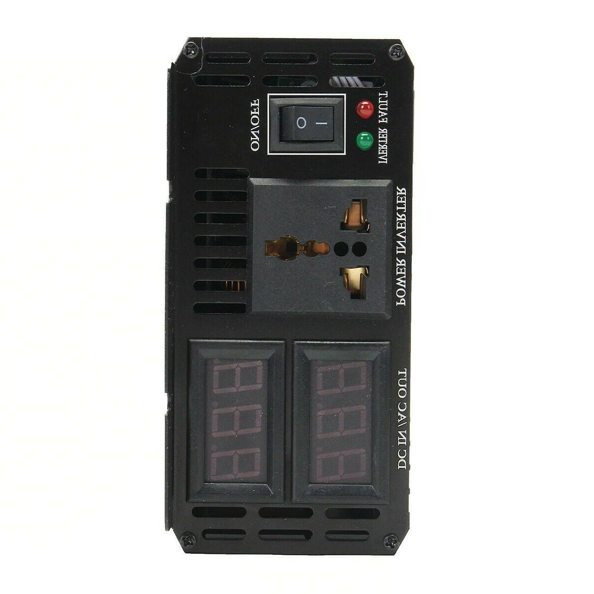 Solar wind 12-24V 220V Converter mobil car