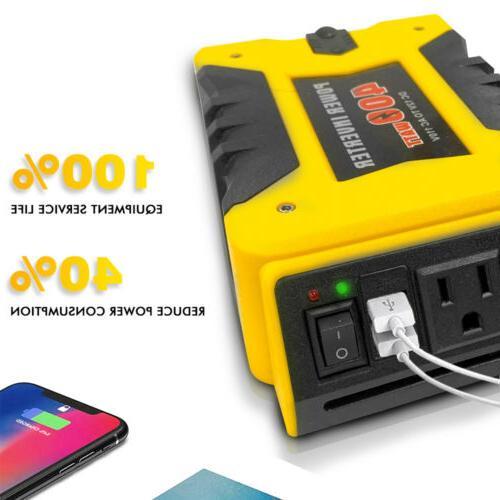 Xbull Inverter 110V Car USB ports