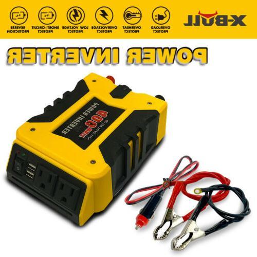 xbull 800w watt power inverter dc 12v