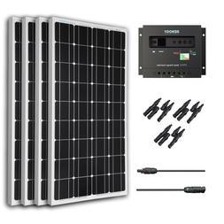 Renogy 400 Watt 12 Volt Monocrystalline Solar Bundle Kit