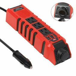 Neptune Power DC 12V To AC 110V Car Power Inverter 2 USB 3 O