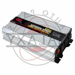 New ATD 1500W 12V Power Inverter w/ Overload Protection Buil