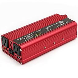 Cantonape 800W/2000W DC 12V to 110V AC Power Inverter Conver