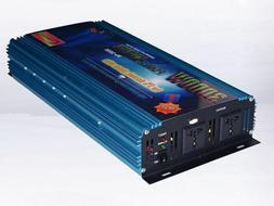 6000w Peak 3000w Power Inverter DC 12V/AC110V power tool/car
