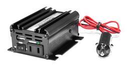 Pyle PINV22 Plug In Car 100 Watt 12V DC to 115 Volt AC Power