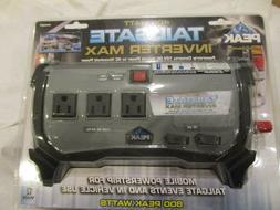 Peak PKC0BO 400 Watt Tailgate Power Inverter New 12 volts DC